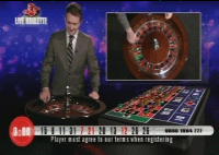 Live Television online casino